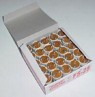 Box Of 25 Super Fluorescent Bulb Starters 25 - Vending, Shop, Retail,etc