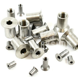 SLEEVE-NUTS-A2-STAINLESS-STEEL-HEXAGON-SOCKET-COUNTERSUNK-COUNTERSUNK-HEAD-NUT
