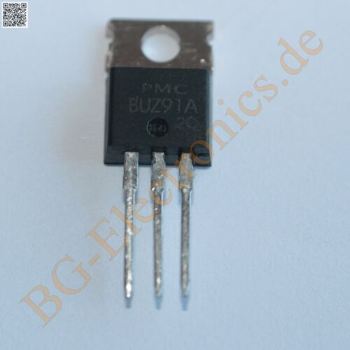 2 x BUZ91A SIPMOS Power Transistor N-channel 600V  PMC TO-220 2pcs