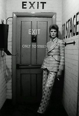 David Bowie English Singer To Stage Vintage Fabric Poster Art TY456-24x36 Inch