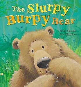 The-Slurpy-Burpy-Bear-Chapman-Jane-Landa-Norbert-Acceptable-Fast-Deliver