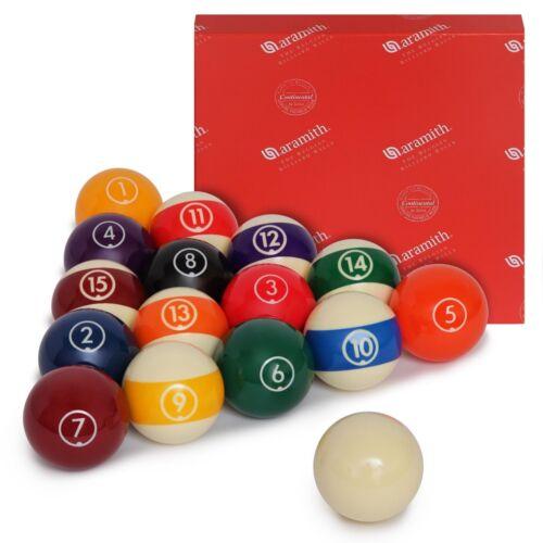"Aramith Continental Billiard Pool Ball set 2 1//4/"""