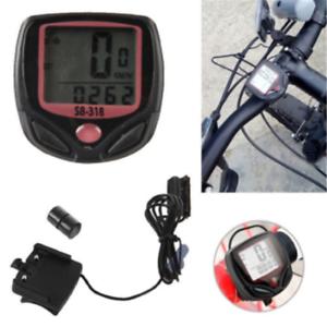 Contachilometri-Tachimetro-Bici-Digitale-15-Funzioni-Computer-Impermeabile