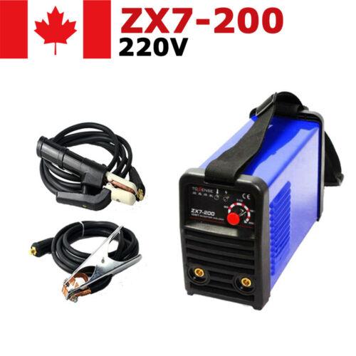Portable Household IGBT ZX7-200 MMA Stick Arc Welding Machine Inverter 220V