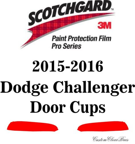 3M Scotchgard Paint Protection Film Pro Series Clear 2015 2016 Dodge Challenger