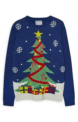 BNWT 2019 FRIENDS ALL OVER PRINTED JUMPER LADIES PRIMARK BNWT 2XS 4-6 XMAS GIFT
