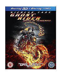 Ghost Rider - Spirit Of Vengeance (3D Blu-ray, 2012, 2-Disc Set)