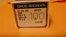 50 GROZ-BECKERT INDUSTRIAL SEWING MACHINE NEEDLES 158GJS SIZE 90//36