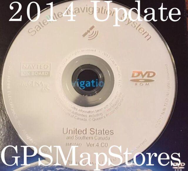 2014 Update Acura/Honda White Navigation DVD BM515AO