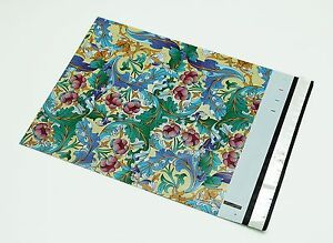 200 10x13 Paisley Green Poly Mailer Shipping Envelope Designer Couture