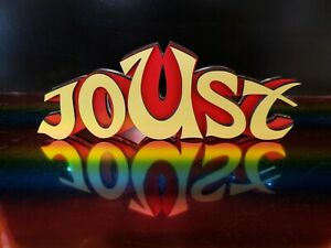 Joust-sign-arcade-Atari-2600-perfect-for-the-gameroom-Atari-show-it-off