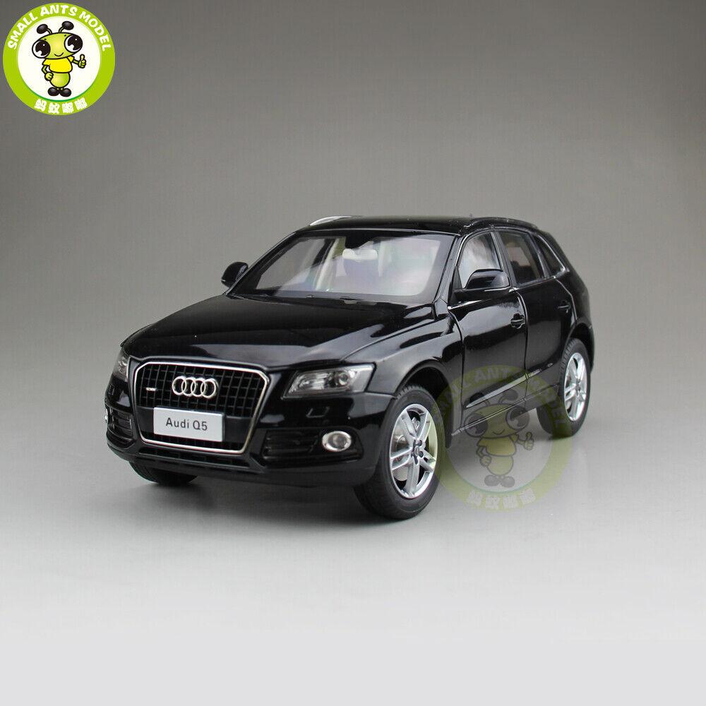 1 18 AUDI Q5 Coche de Metal Fundido Sport Utility Vehicle Modelo Juguete Regalo Niño Niña Colección nero