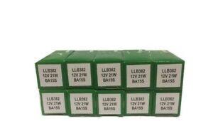 10x-Genuine-Lucas-LLB382-382-SCC-12v-21W-indicator-Fog-Reverse-Brake-bulb-382