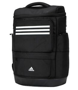 1e40337fd701 Adidas KR OPS Backpack Bags Sports Black White Casual School Travel ...