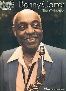 """Benny Carter """"the Collection"""" For Saxophone Music Book Rare Out Of Print New!!"""