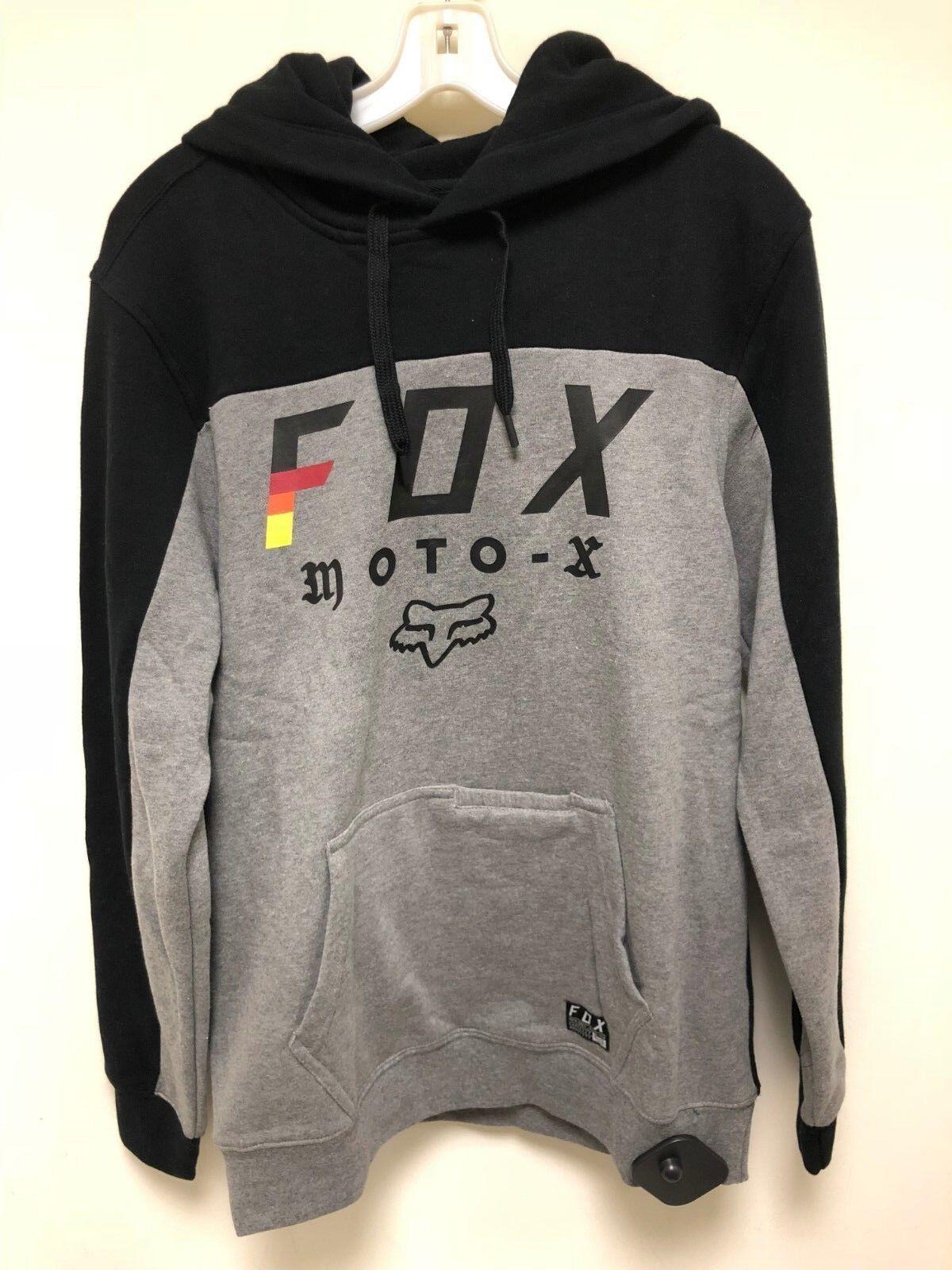 2019 Fox Racing Motocross MX Streak Fleece Pullover Hoodie Sweatshirt M L XL 2XL