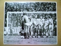 100% Org Press Photo-1981 WC 1/8-CZECHOSLOVAKIA v USSR,players in Action to Goal