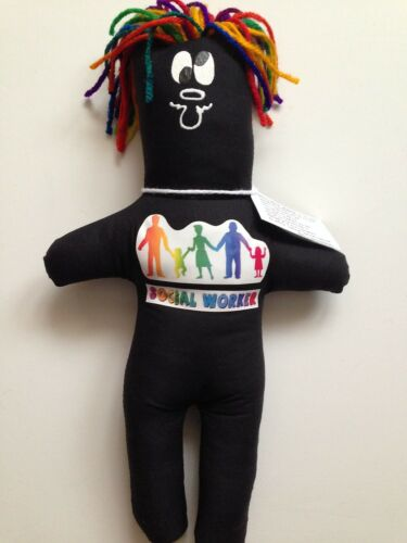 SOCIAL WORKER FRUSTRATION Doll dammit Stress Relief dolls