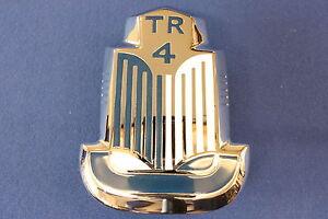 Triumph Tr4 Bonnet Badge New Ebay