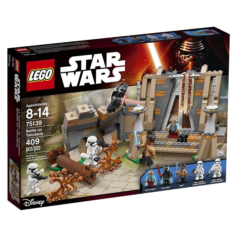 LEGO Battle on Takodana new sealed Star Wars Force Awakens set 75139