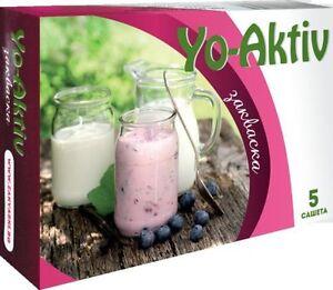 Yo-Aktiv starter culture for homemade yogurt from Bulgaria - 1 box ...