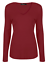 Womens-Ladies-Girls-Plain-Long-Sleeve-V-NECK-T-Shirt-Top-Plus-Size-Tops-Shirt thumbnail 19