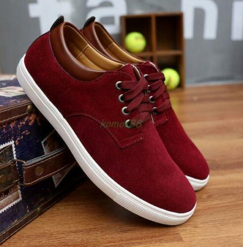 Fashion Men/'s canves lace up Casual sport athletic Board comfy Shoes