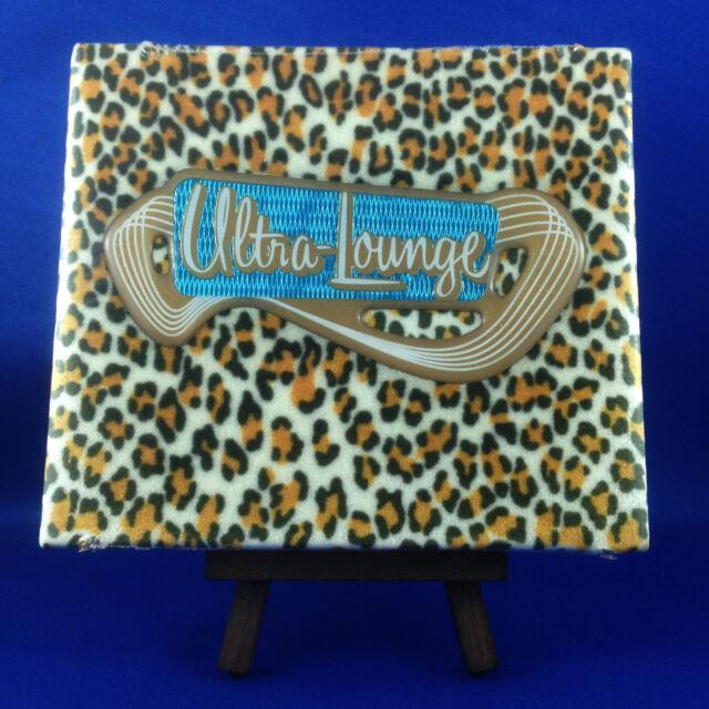 VARIOUS ARTISTS: Ultra Lounge Leopard Skin Sampler, RARE 1996 Limited Edition