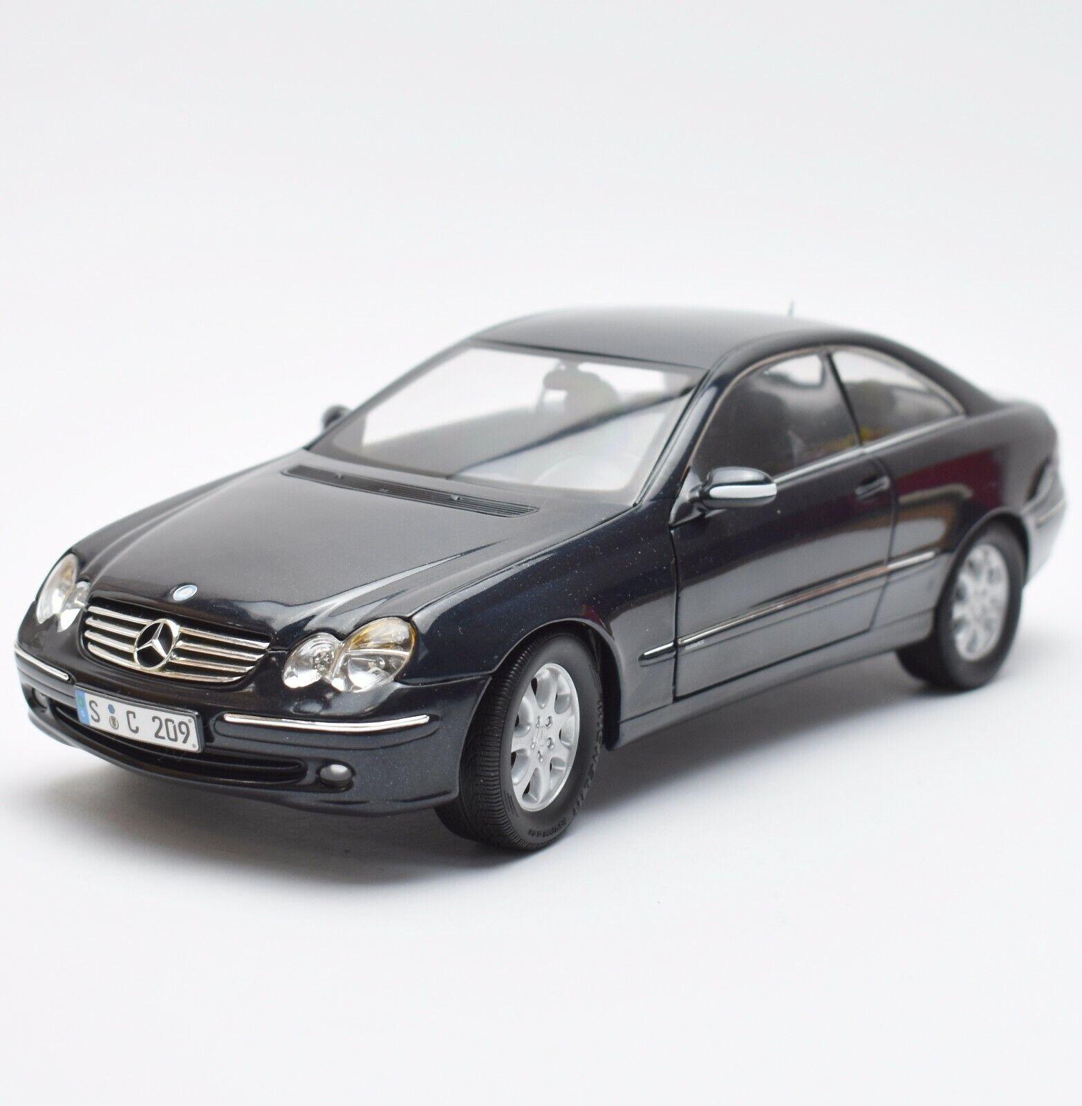 bienvenido a elegir Kyosho Mercedes Mercedes Mercedes Benz CLK Sport Coupe en lacado en negro, 1 18, embalaje original, k017  de moda