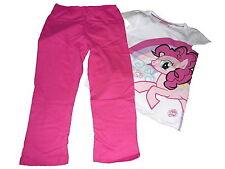 NEU toller Pyjama / Schlafanzug Gr. 98 / 104 weiß-rosa mit My little Pony Motiv