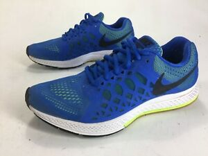 cheap for discount 7edc1 62d68 Image is loading Mens-Nike-Zoom-Pegasus-31-Shoes-Blue-Green-