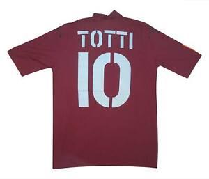 ROMA 2004-05 ORIGINALE PLAYER ISSUE HOME SHIRT TOTTI #10 (nuova con etichetta) M SOCCER JERSEY