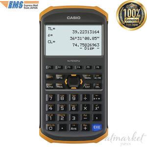CASIO fx-FD10 Pro Civil Engineering /& Surveying Calculator New in Box