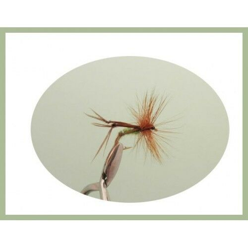 Trout Flies Choice of Sizes Hoppers 12 Pack Mixed Colours Fishing Flies