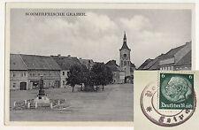 Ak Sommerfrische Graber Bömisch Leipa Kravaře Tschechien seltener ? Stempel 1938