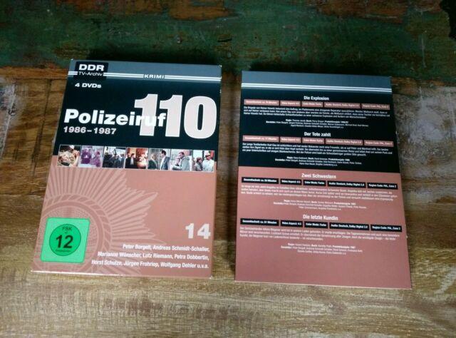 Polizeiruf 110 - Box 14 DDR TV ARCHIV 1986-1987