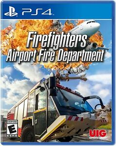 Firefighters Airport Fire Department - Sony PlayStation 4 [PS4 Simulator] NEW