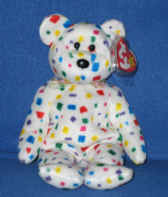Ty Beanie Baby Ty2k The Bear MINT With MINT Tags Retired  00cc9a85381