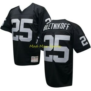 FRED BILETNIKOFF Los Angeles RAIDERS MITCHELL AND NESS Throwback ...
