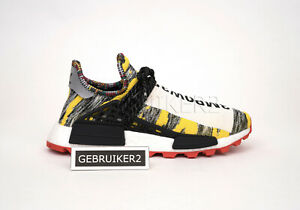 87af2f12bab3 adidas Originals x Pharrell Williams PW Solar Hu NMD Afro Pack Red ...