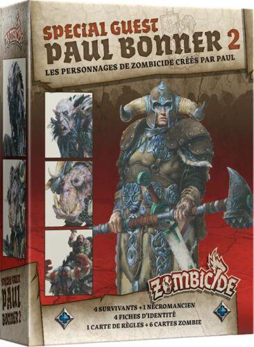GUEST PAUL BONNER 2 VF  EFCMZB43 ZOMBICIDE BLACK PLAGUE SPE