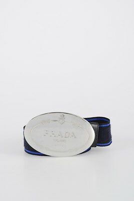 *new* Prada Cintura Con Fibbia Ovale Belt With Oval Buckle Ad Ogni Costo