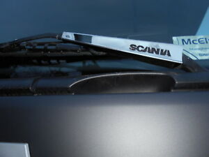 Scania-4-R-P-G-6-Series-S-Steel-Truck-Wiper-Arm-Blade-Cover-Chrome-LHD