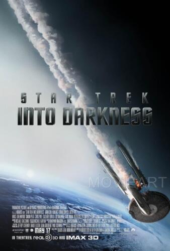 STAR TREK INTO DARKNESS MOVIE POSTER FILM A4 A3 ART PRINT CINEMA