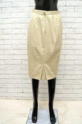 Cordiale Gonna Valentino Donna Taglia Size 42 Skirt Shorts Woman Vita Alta Cotone Lunga Prezzo Di Vendita