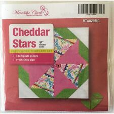 Matilda's Own Cheddar Stars Patchwork Template Set