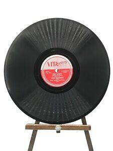 78-RPM-JAZZ-VITA-Coustic-1003-OH-BABY-BOP-BOP-SIZZLE-Louie-Saunders-E