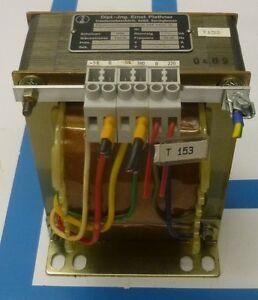 Transformator-Steuertransformator-Trafo-Prim-380V-Sek-220V-500VA