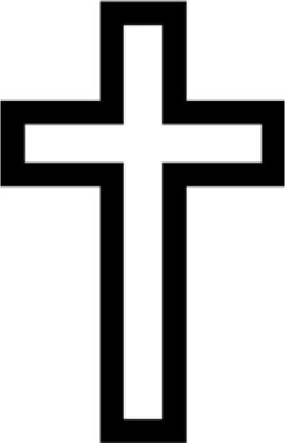 Cross Outline Vinyl Decal Sticker Religious Church Jesus For Sale Online Ebay Download 447 cross outline free vectors. cross outline vinyl decal sticker religious church jesus
