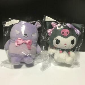 Sanrio Kuji Kuromi Baku mascot 2 type set plush doll stuffed toy 2020 My Melody